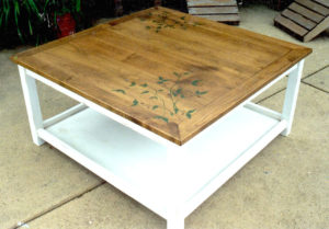 #031 Painted Coffee Table