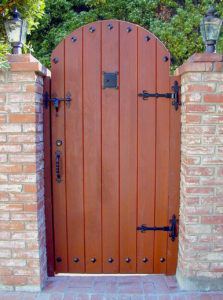 #345 Custom Gate made of Spanish Cedar