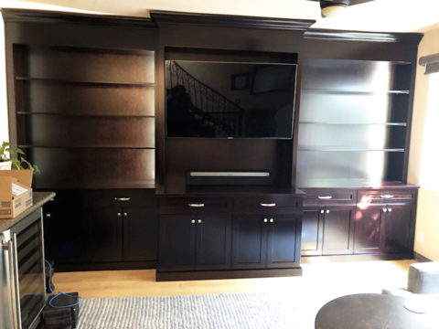 Jimmie Jeff wall unit