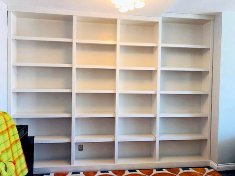 Maggie bookcase empty